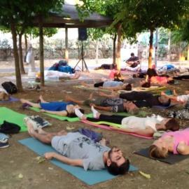 Yoga in Villa Giaquinto Caserta